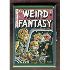 WEIRD FANTASY EC SCI FI COMIC ID CIGARETTE CASE WALLET