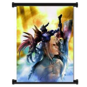 Soul Calibur Nightmare Game Fabric Wall Scroll Poster (32x45) Inches