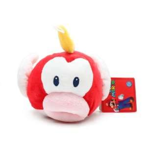 Holdings Super Mario Plush   5 Cheep Cheep/Puku Puku: Toys & Games