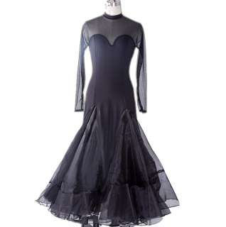 Flamenco Ballroom Dance Dress Long Prom Dress #S8018