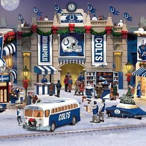 Indianapolis Colts Christmas Village Collection