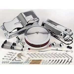 JEGS Performance Products 50535 Chrome Engine Kit Automotive