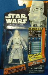 Star Wars Saga Legends SNOWTROOPER SL 23