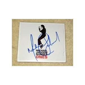 MICHAEL JACKSON signed AUTOGRAPHED Ones Cd COVER *proof