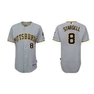 Wholesale Pittsburgh Pirates #8 Willie Stargell Grey