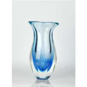 C115 Cobalt Blue Hand Blown Art Glass Vase