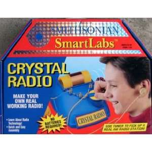 Smithsonian Smart Labs Crystal Radio Kit: Toys & Games