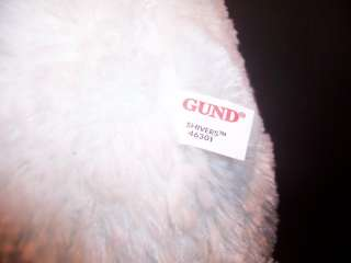 Gund Shivers Plush Teddy Bear Boscovs Exc Stuffed 46301
