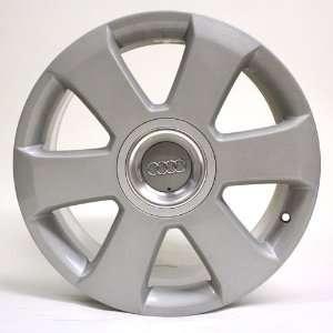 17 Inch Audi A4 Silver Factory Oem Wheel #58760