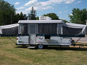 Coleman Pop up Popup Camper Travel Tent Trailer Camping RV Folding