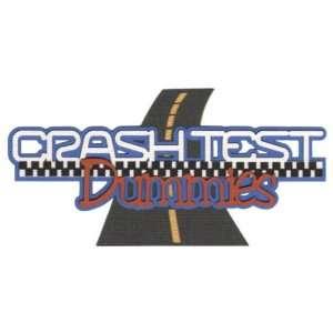 Theme Park: Crash Test Dummies Laser Die Cut: Arts, Crafts