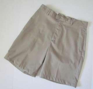 GREG NORMAN New Khaki Tan Golf Shorts Mens 32