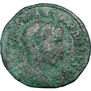 III 238AD Viminacium Legio VII Claudia Ancient Roman Coin BULL LION