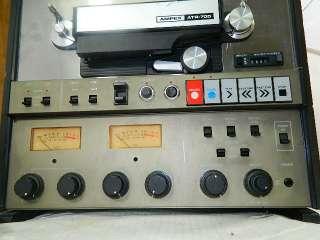 Ampex ATR 700 Reel to Reel Tape Recorder 3 3/4 ips   7 1/2 ips