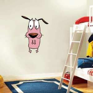 Courage the Cowardly Dog Wall Decal Room Decor 16 x 25