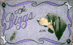 BLACK AND TAN COONHOUND,dog door mat,personalized,pets,