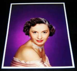 ACTRESS BARBARA STANWYCK SIGNED CARD AND GREAT PRINT