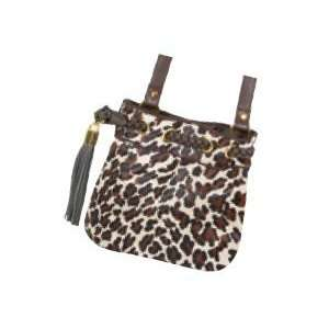 Leopard Animal Print Crossbody Purse Tote Shoulder Bag