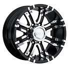 CPP Eagle 197 wheels rims, 17x9, fits DODGE RAM 2500 3