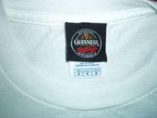 GUINNESS T SHIRT Ireland Irish Beer Clover STOUT Arthur