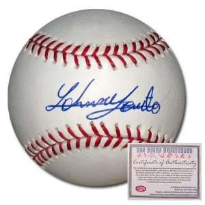 Johnny Cueto Cincinnati Reds Hand Signed Rawlings MLB