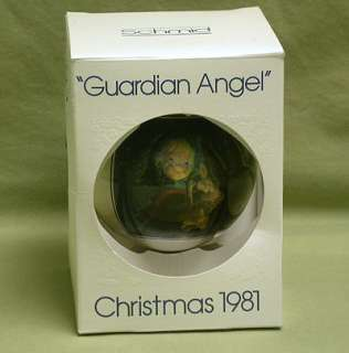 Christmas 1981 Schmid Guardian Angel Limited Edition