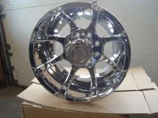 VISION DUALLY CHROME WHEELS FORD CHEVY DODGE 16