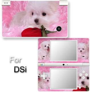 Dog Cute Puppy VINYL SKIN STICKER for NINTENDO DSi #6