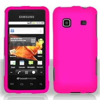 Hot Pink Cover for Straight Talk Samsung Galaxy Precedent Snap On