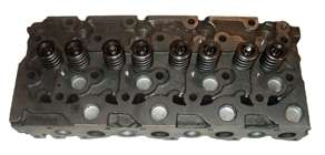 Cylinder Head (Complete) with Kubota Engine Model 1902B