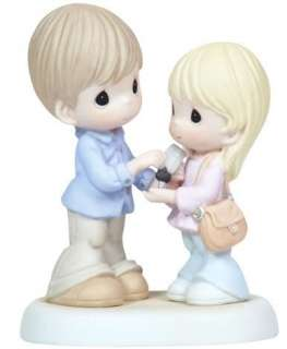MOMENTS Figurine FATHER DAD DAUGHTER Car Key ALWAYS MY LITTLE GIRL