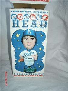 Los Angeles Dodgers Fernando Valenzuela 2001 SGA Bobble Head New