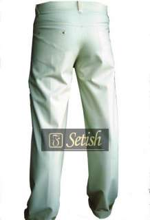100% Handmade Rubber Latex Clothing SETISH Brand latex pants # 04002