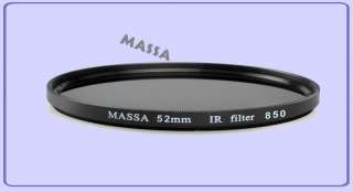 52mm 850nm Infrared Infra Red IR Filter X ray Canon
