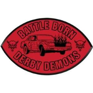 Demolition Derby Garage Custom Football Wood Plaque Home