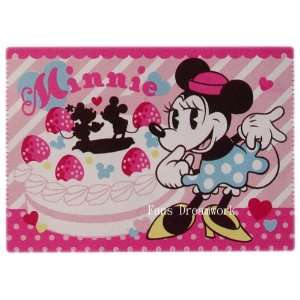 Minnie Mouse Royal Plush Raschel Throw   Disney Minnie Mouse Fleece
