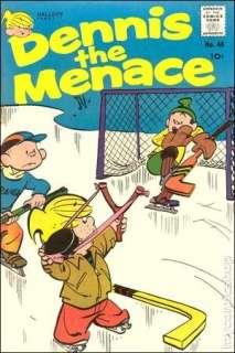 Dennis the Menace (1953 Standard/Pines/Haliden/Fawcett) #48 GD