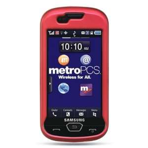 HOT PINK HARD RUBBERIZED CASE + LCD SCREEN PROTECTOR for