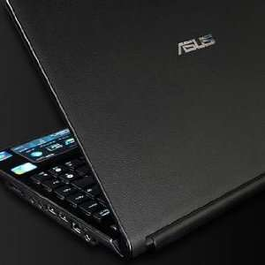 ASUS UL30A Laptop Cover Skin [DeepBlack Leather