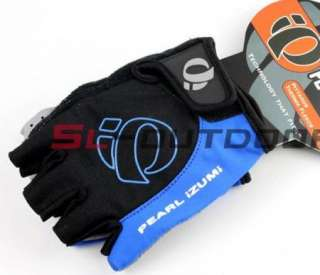 NEW BMX Cycling Bike Bicycle Half Finger Gloves BLUE