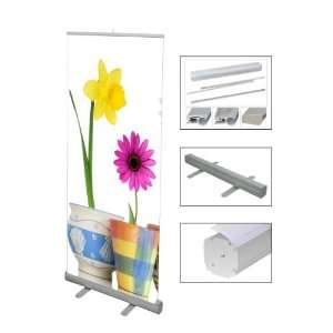 Roll Up Retractable Banner Stand Portable Trade Show