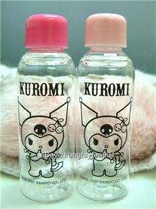 Sanrio Kuromi Devil Cosmetic Bag +Bottles Travel Set