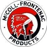 Vintage McColl Frontenac sticker decal sign 3 dia.