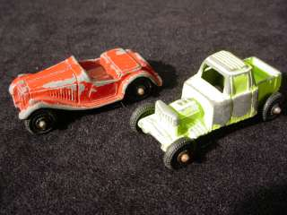 Die Cast TOOTSIE TOY CARS & TRUCKS 1950s/60s MG & Pickup Truck