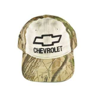 CHEVROLET CHEVY KHAKI CAMO REALTREE HAT CAP RACING NEW