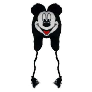 Mickey Mouse Face Disney Cartoon Adult Pilot Laplander Hat Brand New