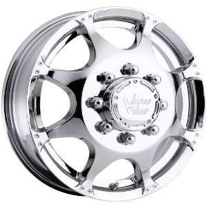 17x6.5 Vision Crazy Eightz Dually Front 8x170 Chrome Wheels Rims Inch