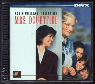 Mrs. Doubtfire   Brand New / Factory Sealed DIVX