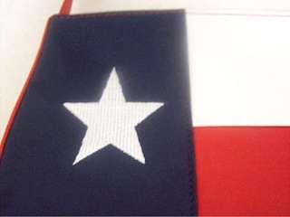 Microfiber Texas Flag Handbag Purse Rebel Dixie