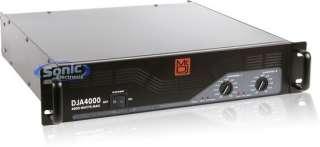 Mr DJ DJA4000 Professional Stereo Power Pro Audio Amplifier/Amp